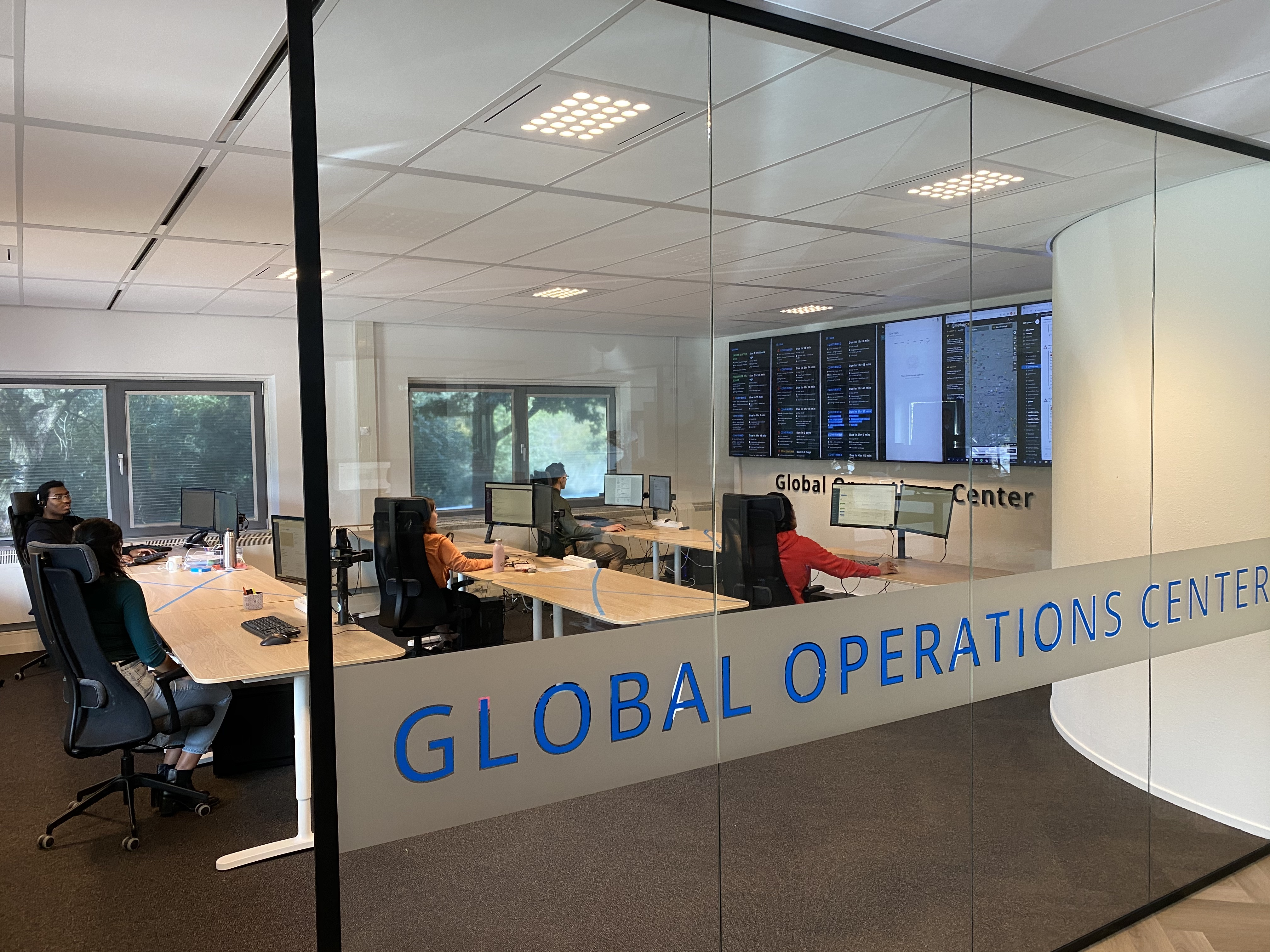 Get e global operations centre